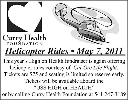 Helicopter Rides - Curry Health Foundation
